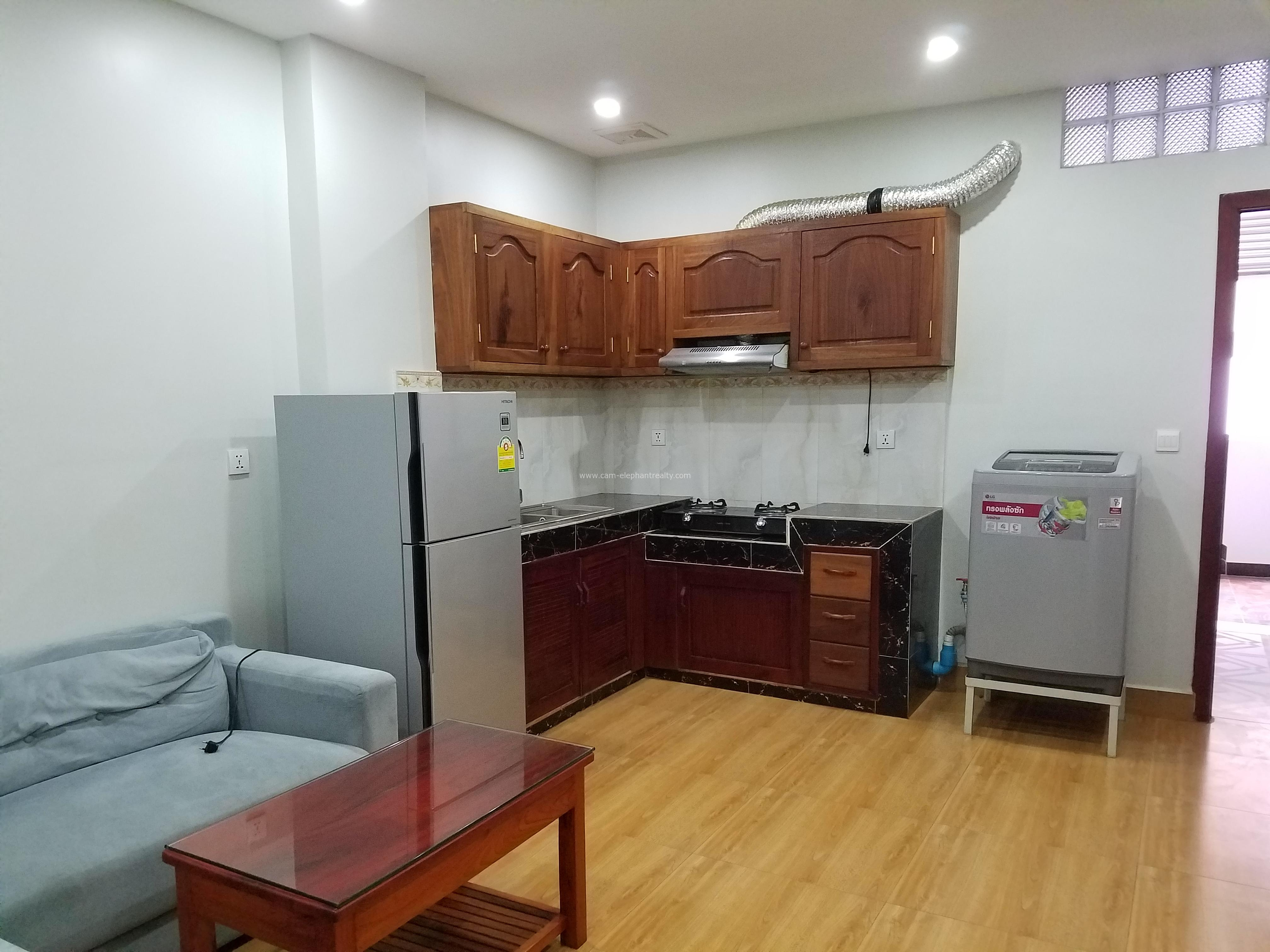 **elevator Western Apartment 2Bedroom+3baths $450/month Russian Market