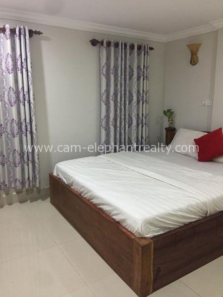Nice Furnished Apartment 1bedroom $165/month near Somang 12 market