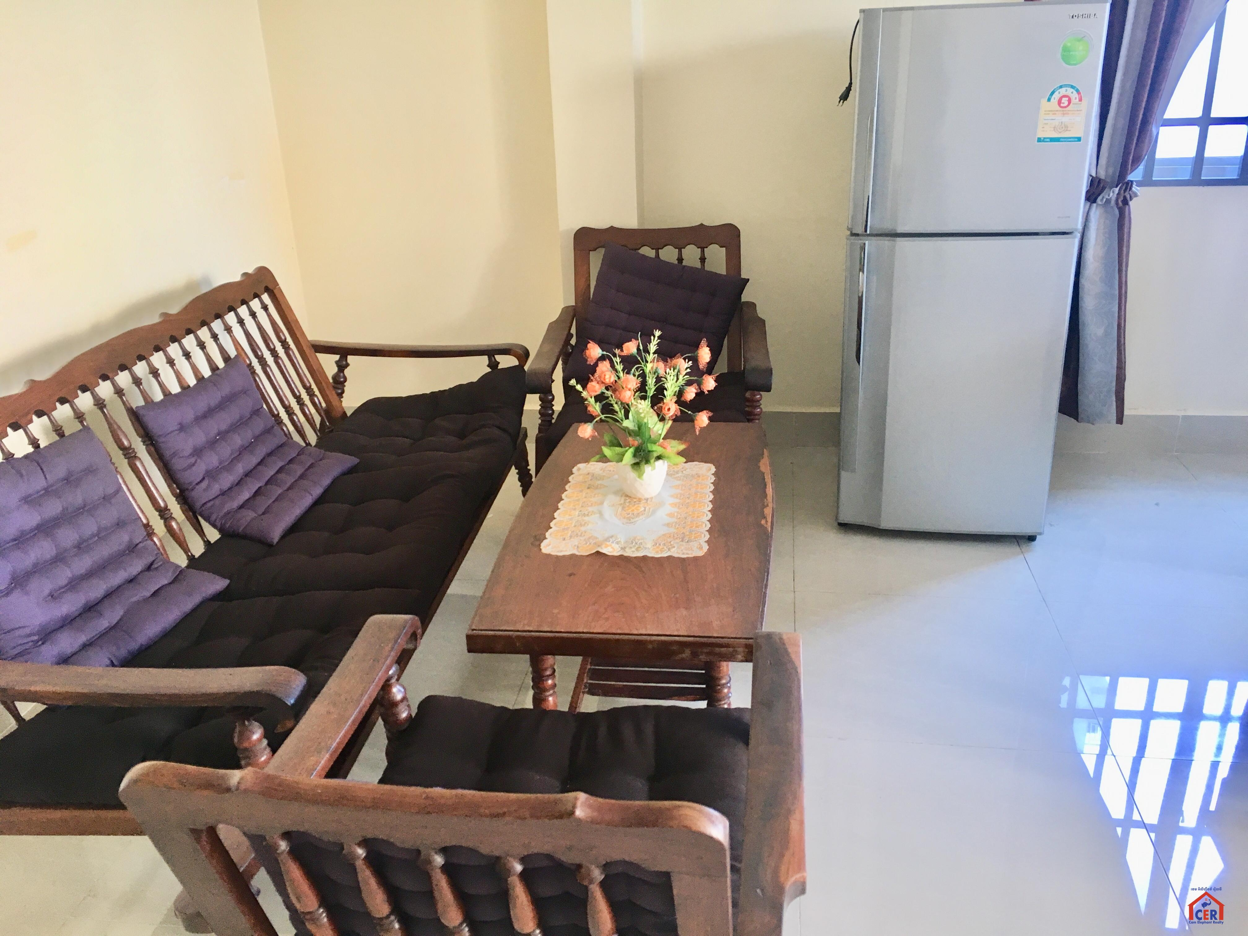 Nice Fully Furnished Apartment For Rent In Russian Market,1 Bedroom $350