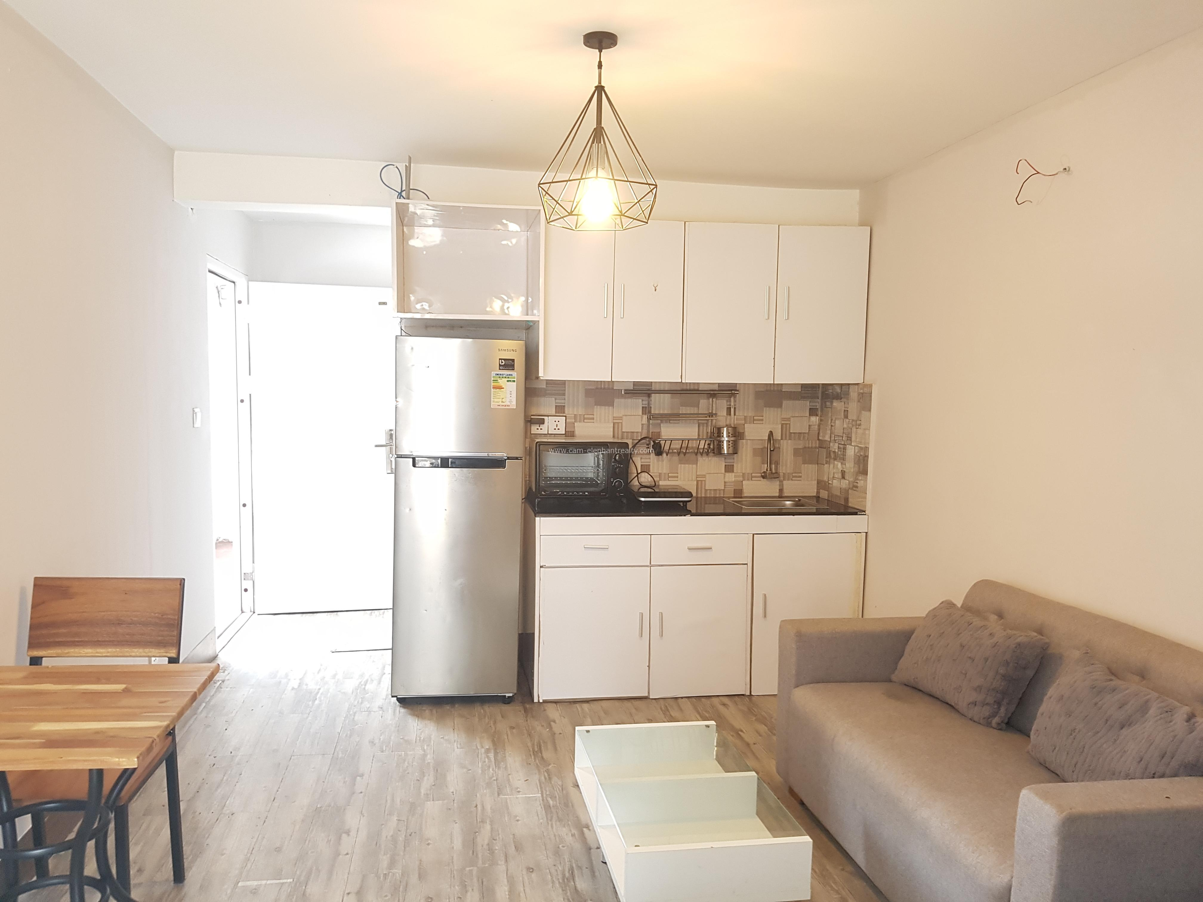 Western Studio Apartment $250/month with balcony Russian Market