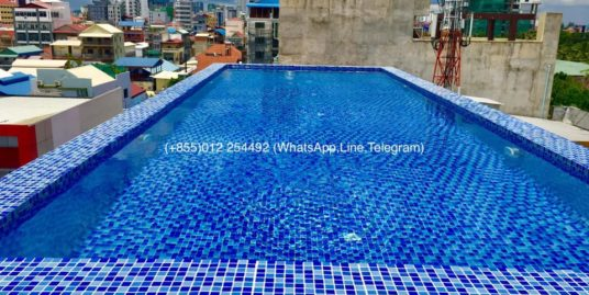 2 Beds 2 Baths Pool Serviced Apartment For Rent In Phnom Penh,Sovanna Shopping Center