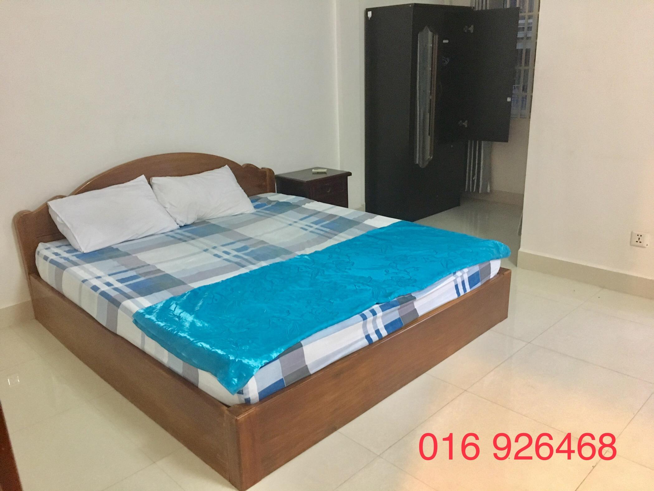 1 Bedroom $260 Beautiful Balcony Apartment Rental in Phnom Penh,BKK2