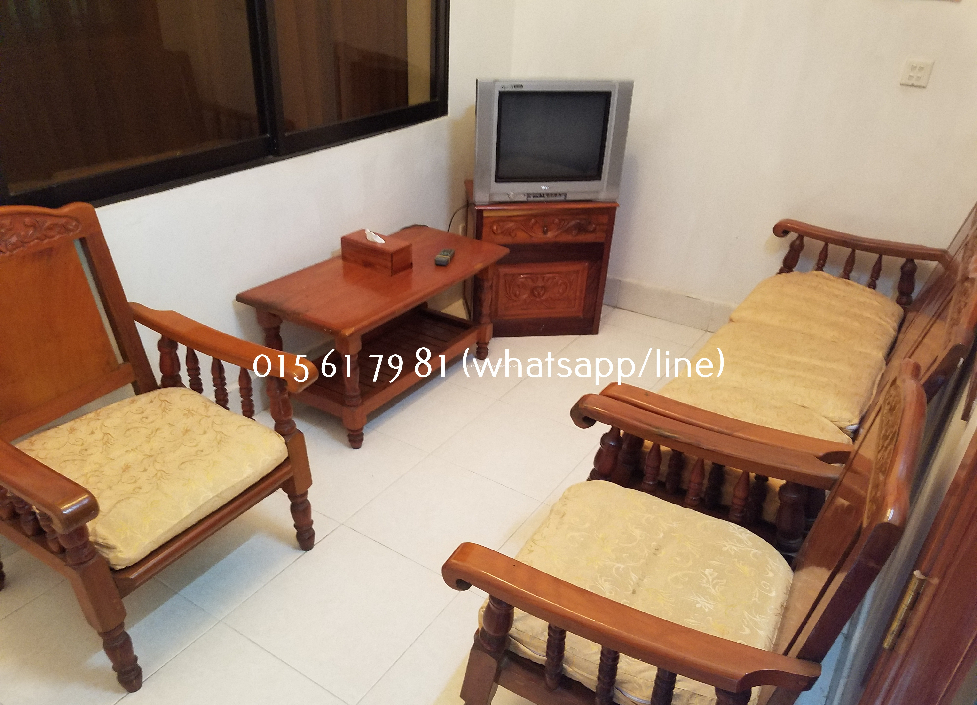 Nice Clean Furnished Apartment 1Bedroon $250/month near National Museum
