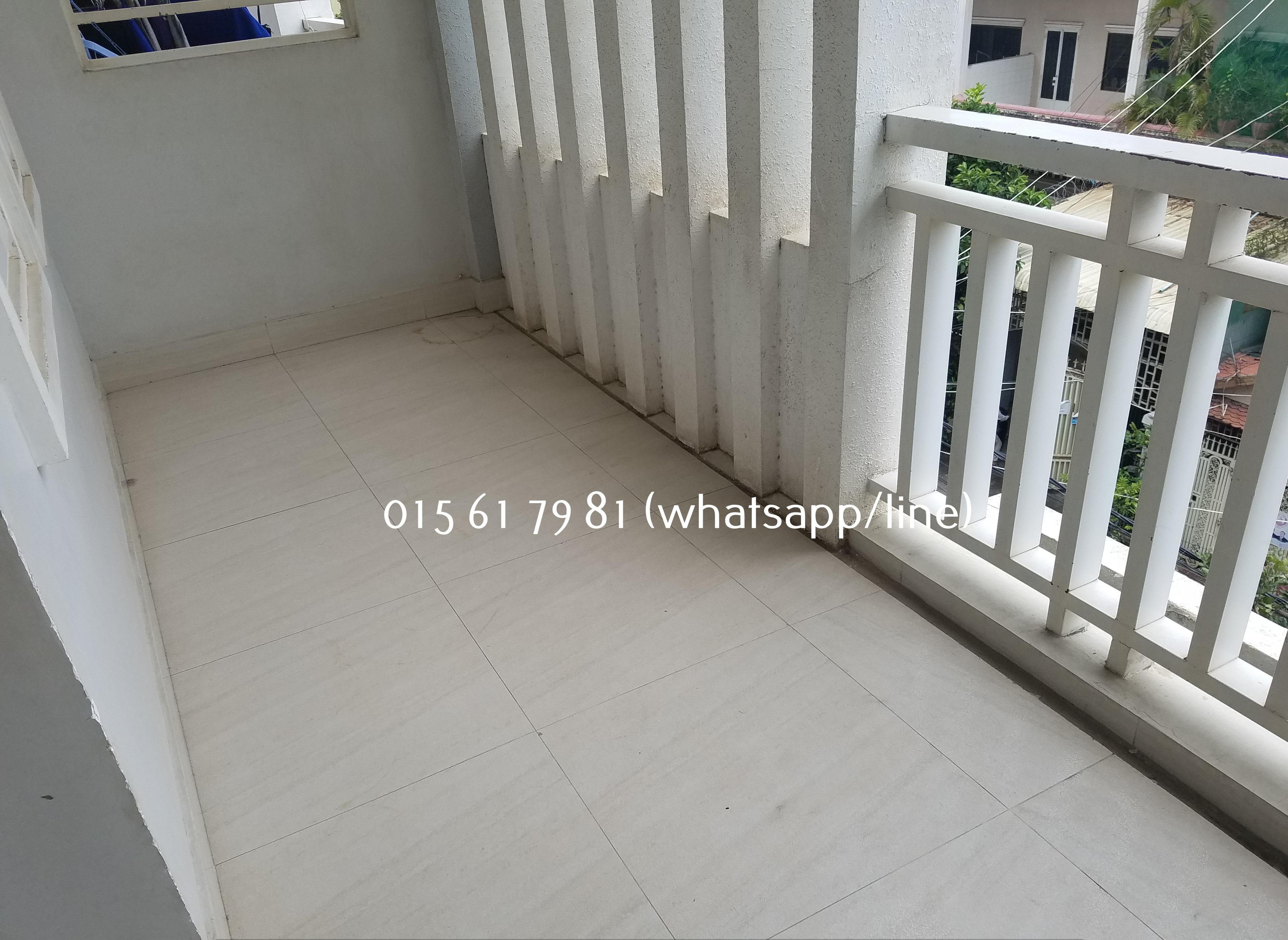 Nice Western Apartment 1Bedroom Big balcony $300/month BKK3