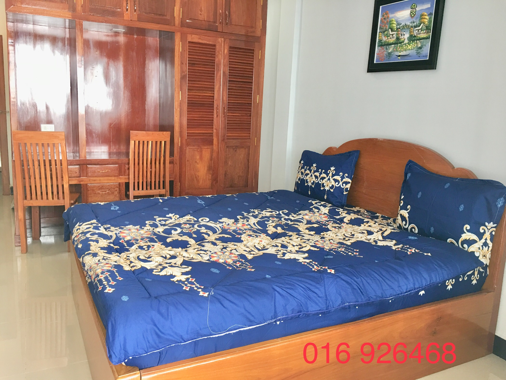 1 Bedroom $250 Fully Furnished Apartment for Rent in Phnom Penh,Russian Market