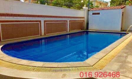 2 Bedrooms Swimming Pool Apartment For Rent In Phnom Penh,Russian Market