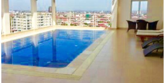 1 Bedroom Pool & Gym Apartment for Rent,Tuol Kork