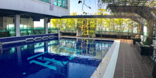 1 Bedroom $610-$750 Modern Luxurious Pool ,Gym Apartment for Rent,BKK3