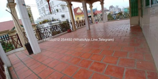 1 Bedroom Nice Terrace Furnished Apartment For Rent In Phnom Penh,Russian Market