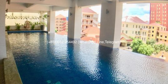 2 Bedrooms Pool&Gym Service Apartment for Rent,Russian Market