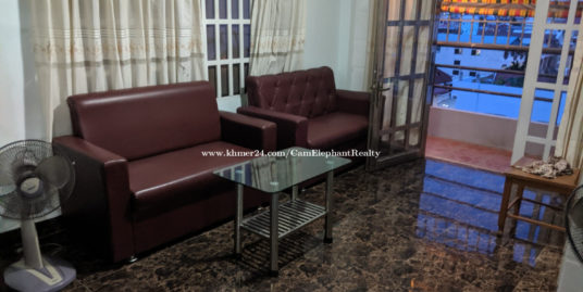 Furnished Apartment 2Bedroom BKK3 near Toul Sleng Museum