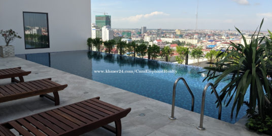 New Pool Gym Serviced Apartment 1Bedroom near Olympic market