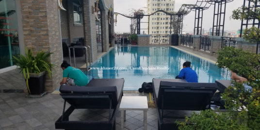 Rooftop Pool Gym Serviced Apartment 2Bedrooms South Russian Market