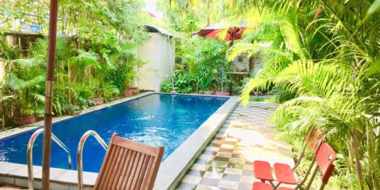 1 Bed 1 Bath Swimming Pool Furnished Apartment for Rent,Tuol Kork