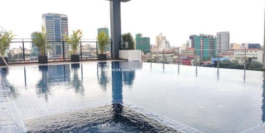 Brand New Pool Servcied apartment 2Bedrooms BKK2
