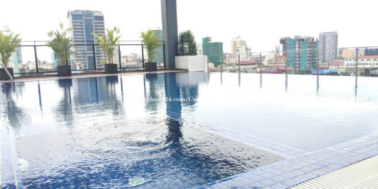 Brand New Pool Serviced Apartment 1Bedroom Boeng Keng Kang2 $650