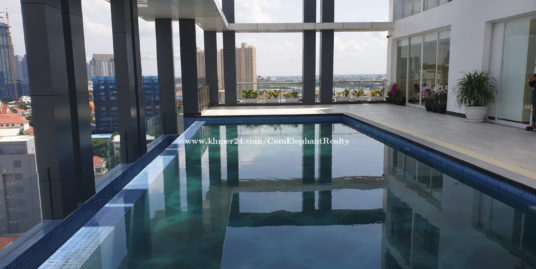 Brand New Pool Serviced Apartment 2bedroom **large Unit BKK1 $1,500
