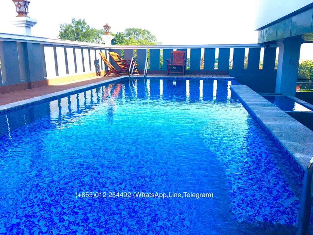 Special Promotion !!!1 Bed 1 Bath Swimming Pool Gym Service Apartment for Rent,Riverside