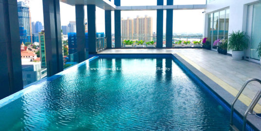 Prime Location!!!1 Bed 1 Bath Swimming Pool Gym Service Apartment for Rent,BKK1