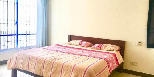 1 Bed 1 Bath Beautiful Balcony Apartment For Rent In Phnom Penh,BKK3