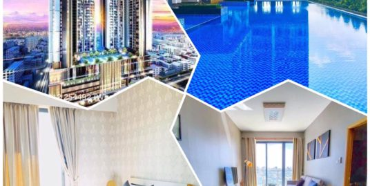 Special Discount!!! Pool & Gym Luxurious Condo for Rent,Central Market