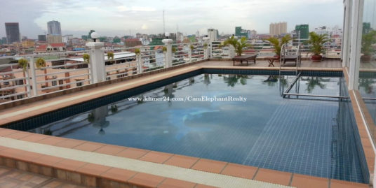 Rooftop Pool Serviced Apartment 1Bedroom Russian market