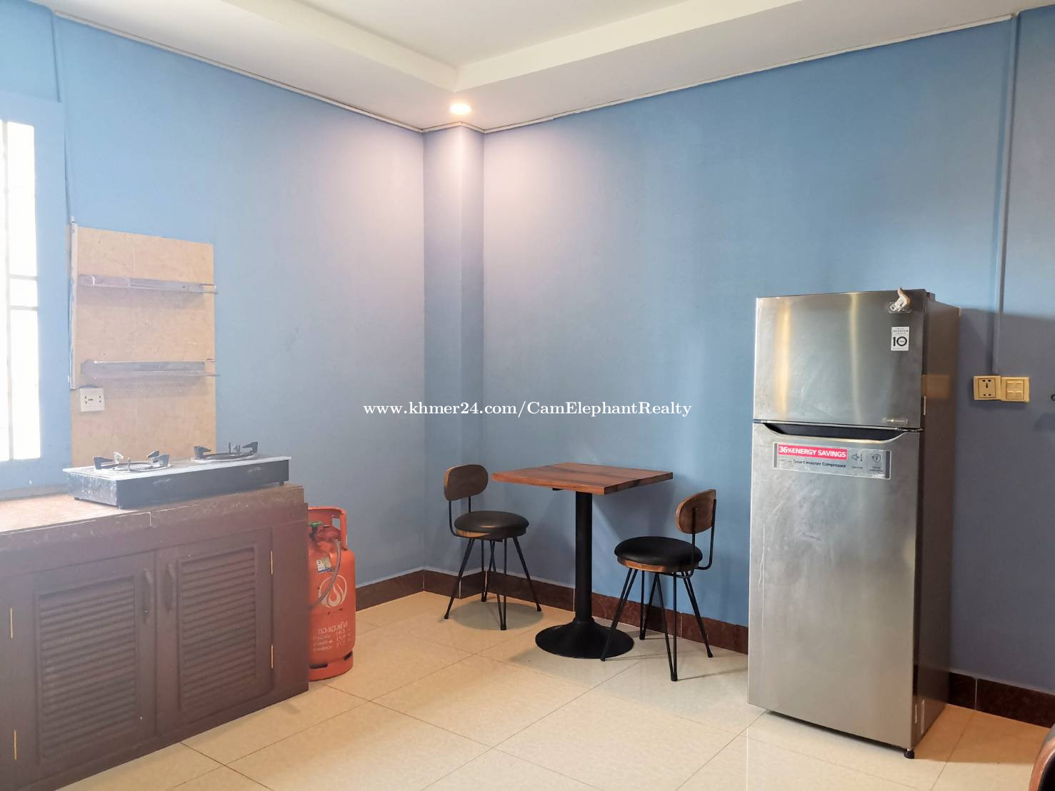 Western Apartment 1bedroom with balcony *elevator Boeng Trabek