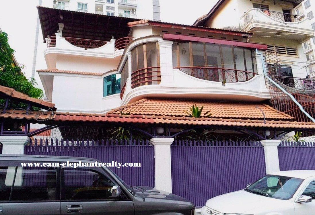 Villa for Rent at Boeung keng kang 3