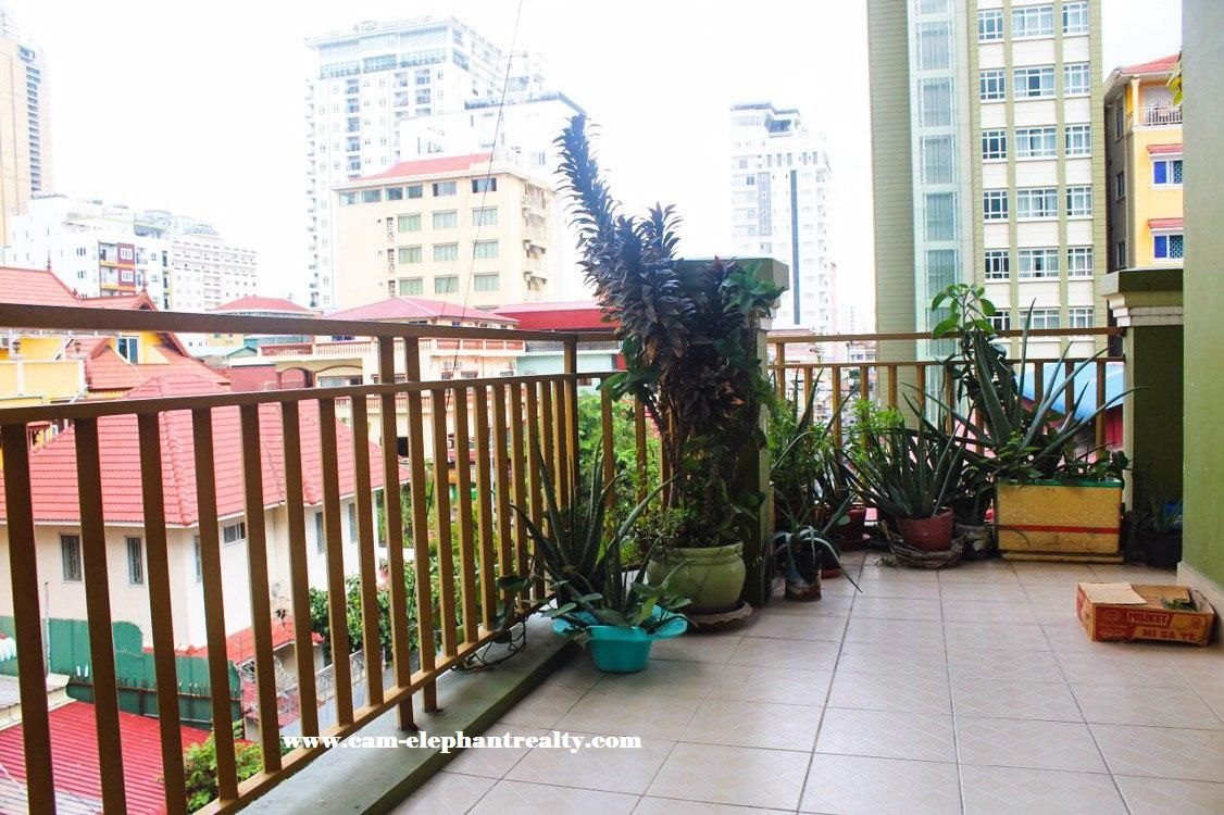 Apartment for Rent near Phnom Penh Tower