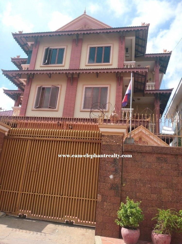 Villa for Rent at Boeung Tra Bek