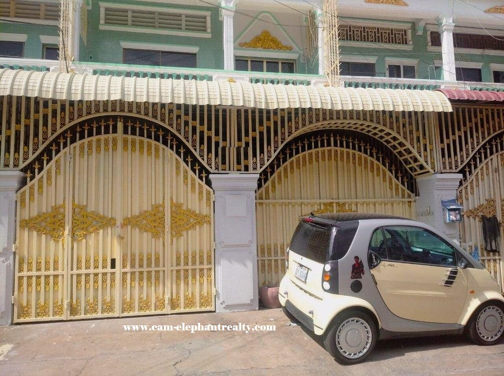 House for Rent near Toul Tom Puong Market