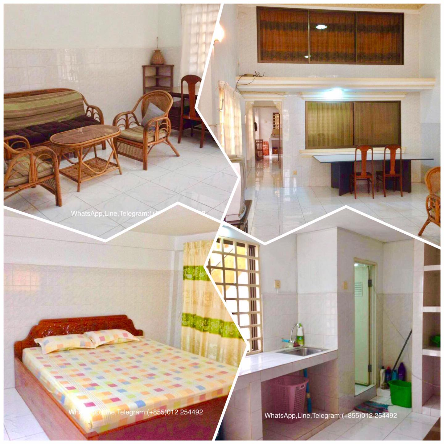 3 Beds 3 Baths Fully Furnished Apartment for Rent,BKK3