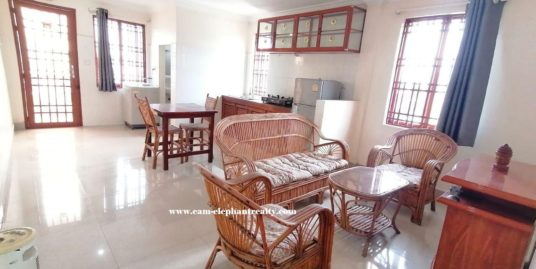 1Bedroom apartment for rent near Toul Tompoung (Russian market)