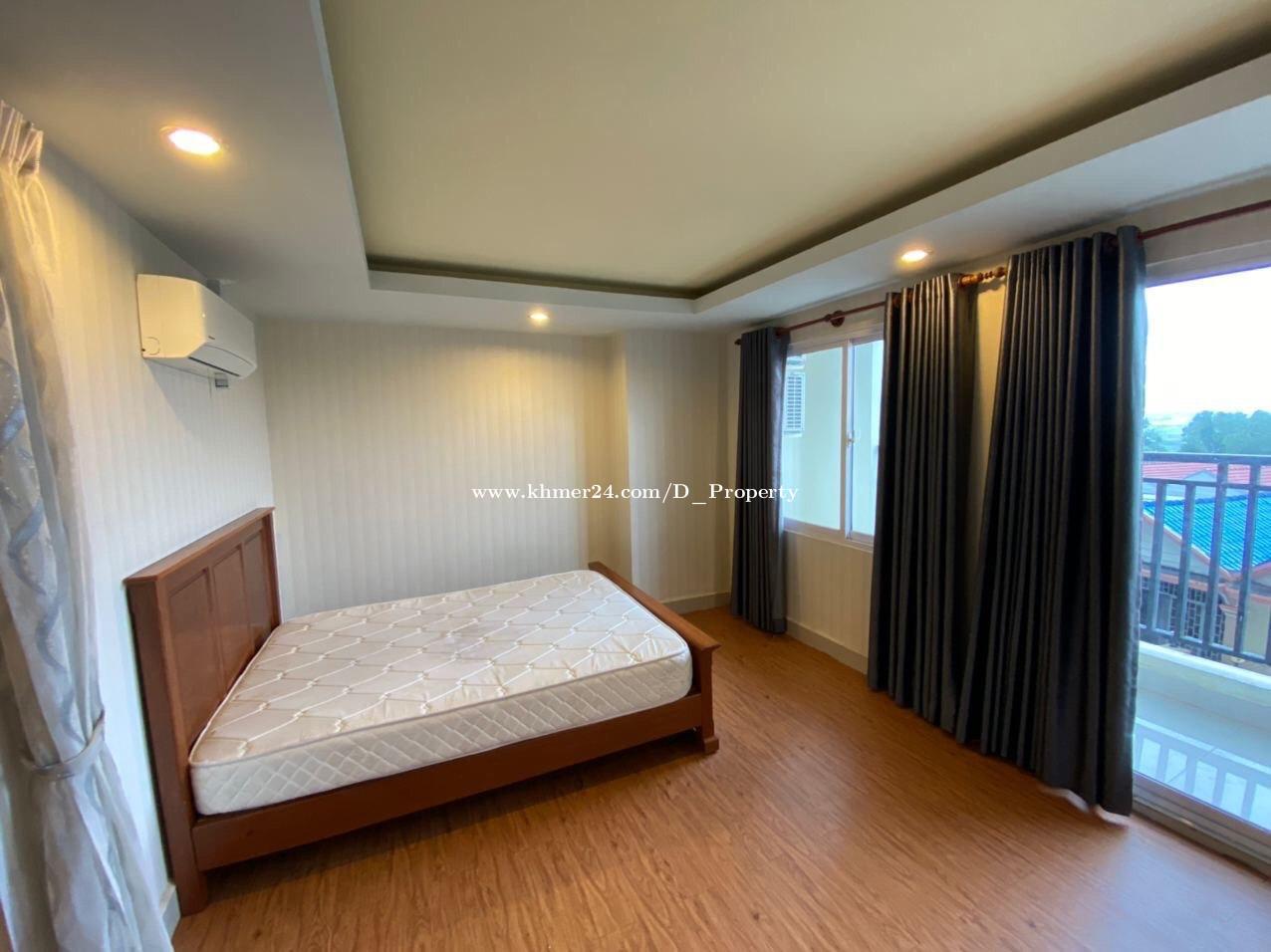 1 Bedroom Condo for Rent Near Boeng Tumpun