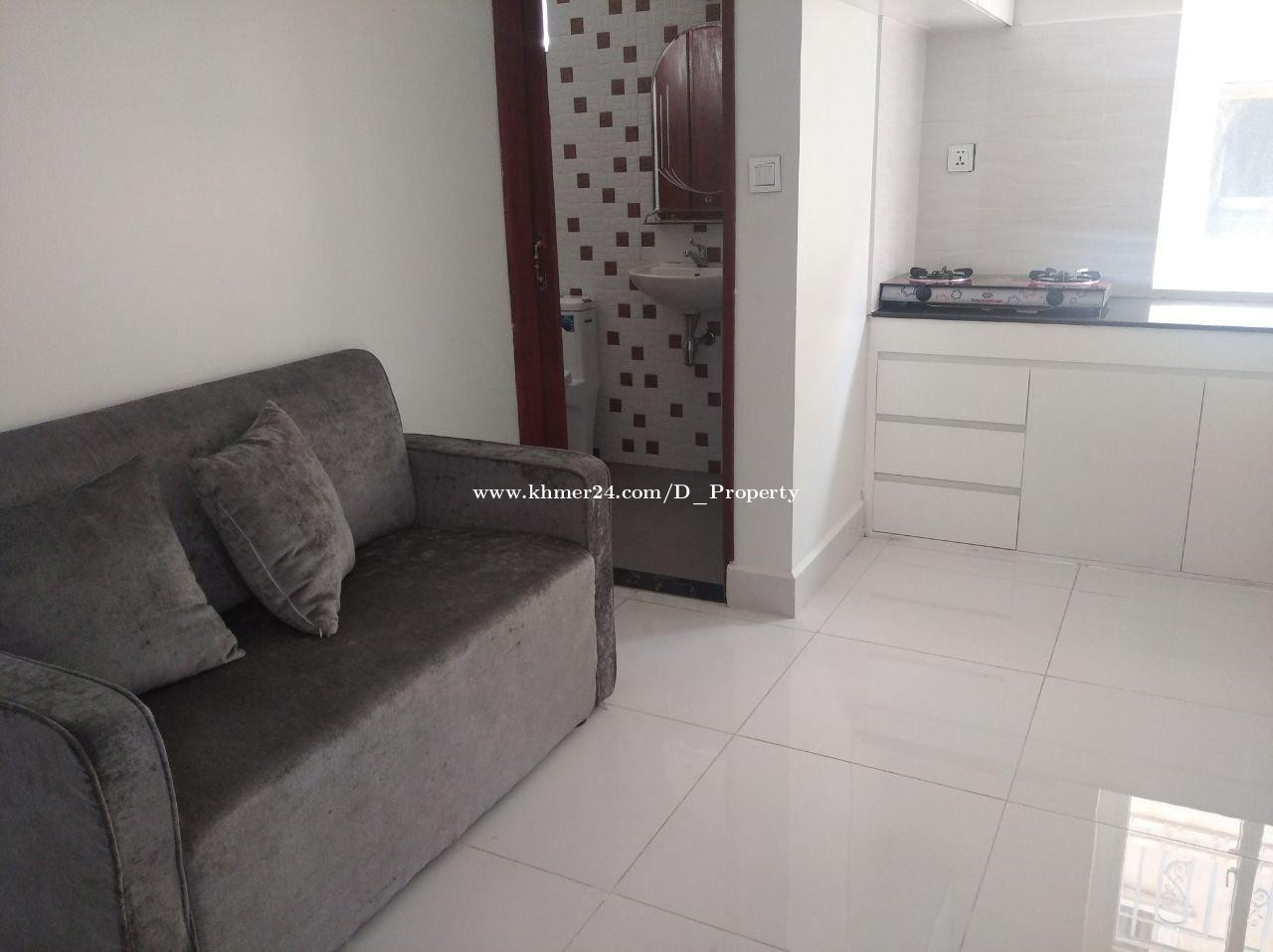 Apartment for Rent (1B; Toul Tompoung)
