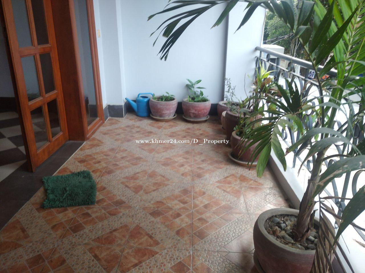 Apartment for Rent (Toul Tompong)
