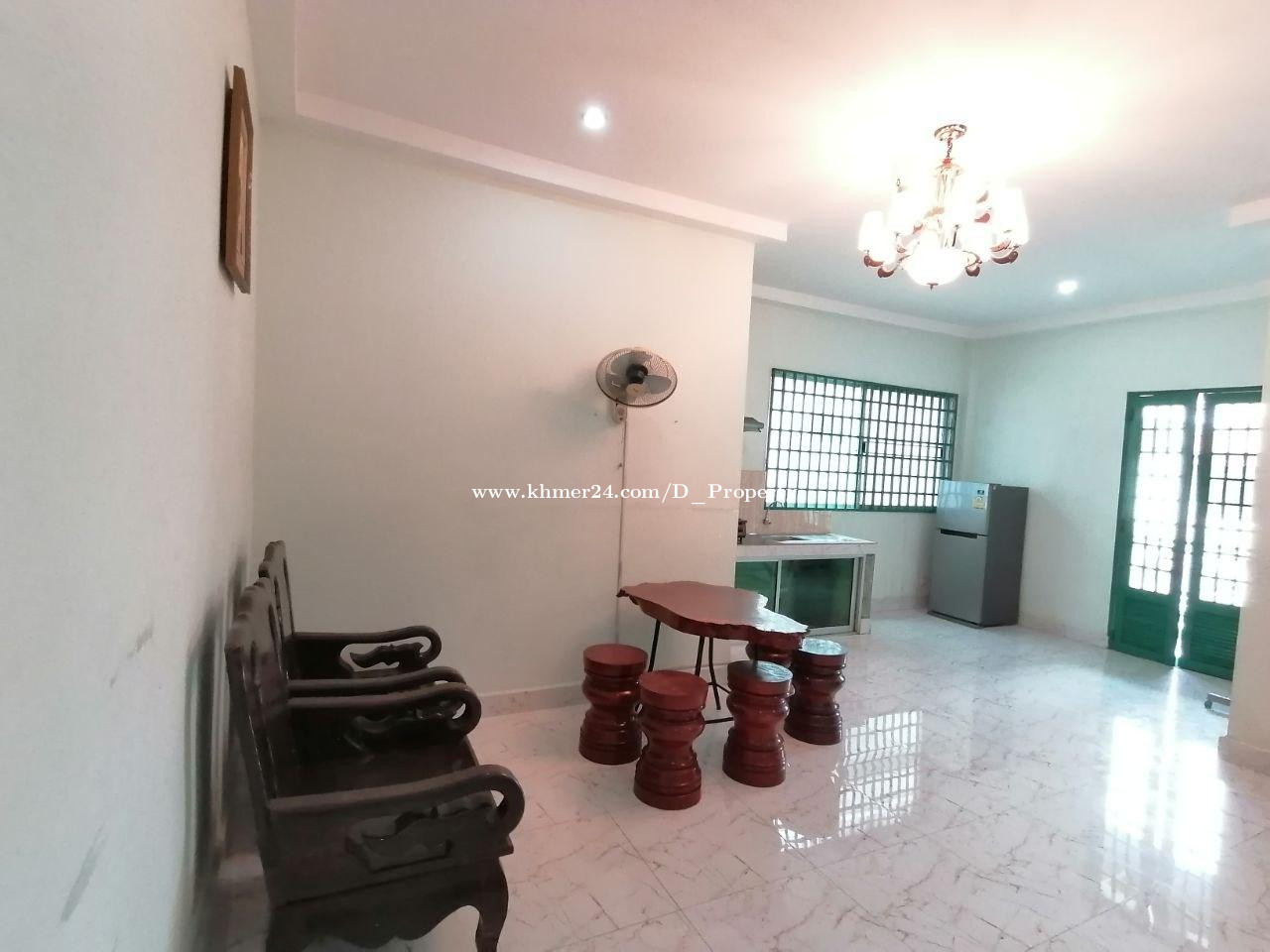 Apartment for Rent (1B; Toul Tompong)