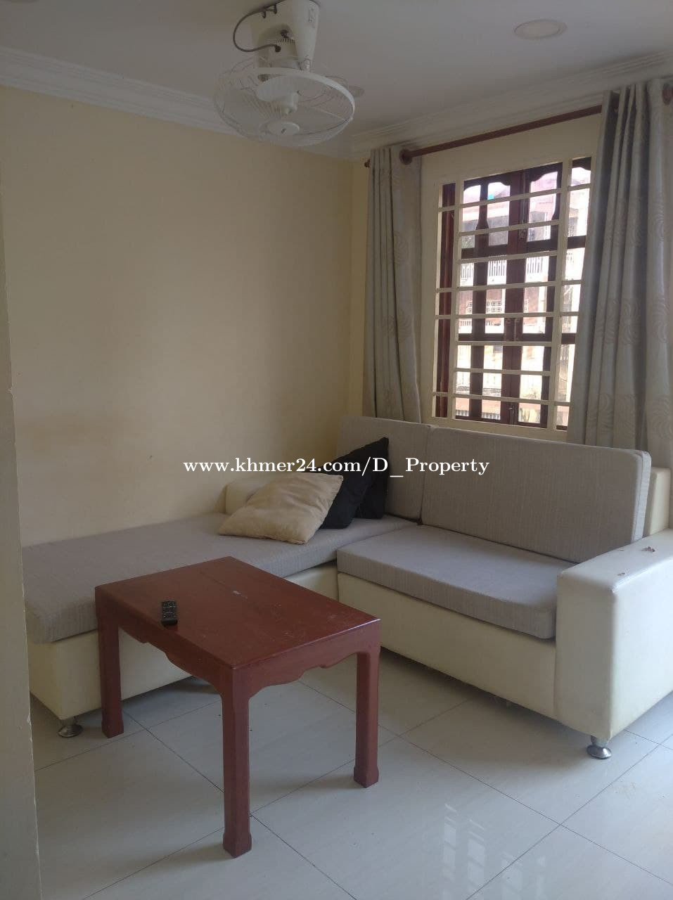 Apartment for Rent (2Bedrooms; Boeung Pralit)