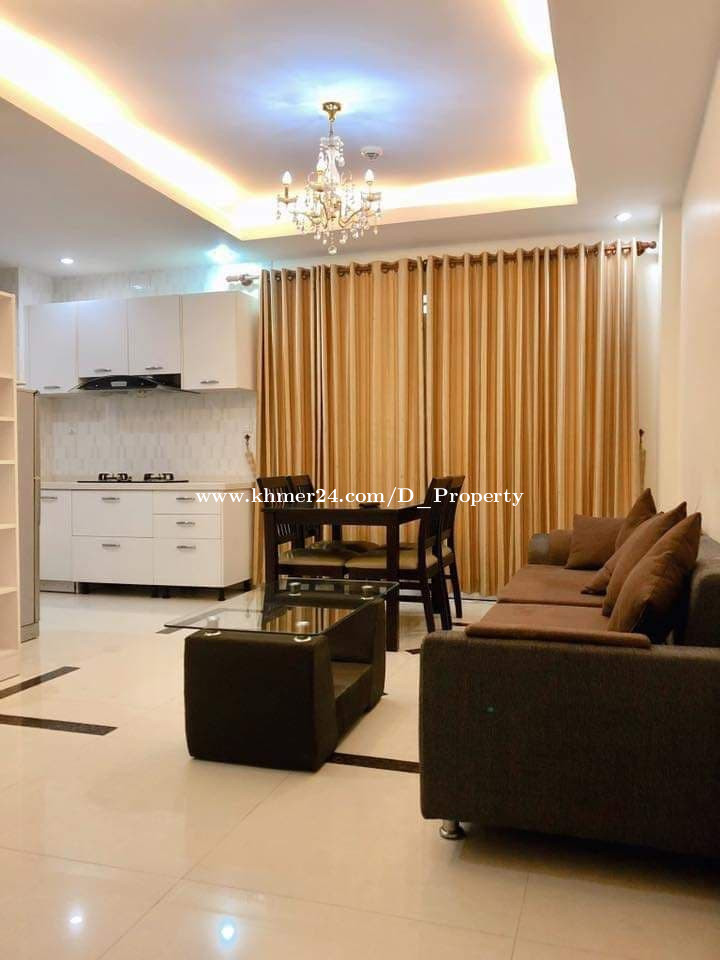 Modern Apartment for Rent (1Bedroom; Tomnob Teuk area)