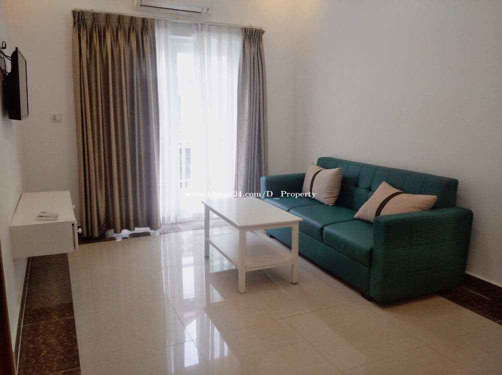 Nice Apartment for Rent (1Bedroom; Boeung Trobek