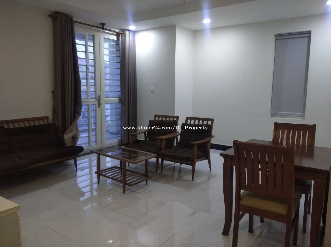 Nice Apartment for Rent (1Bedroom; Steung Meanchey area)