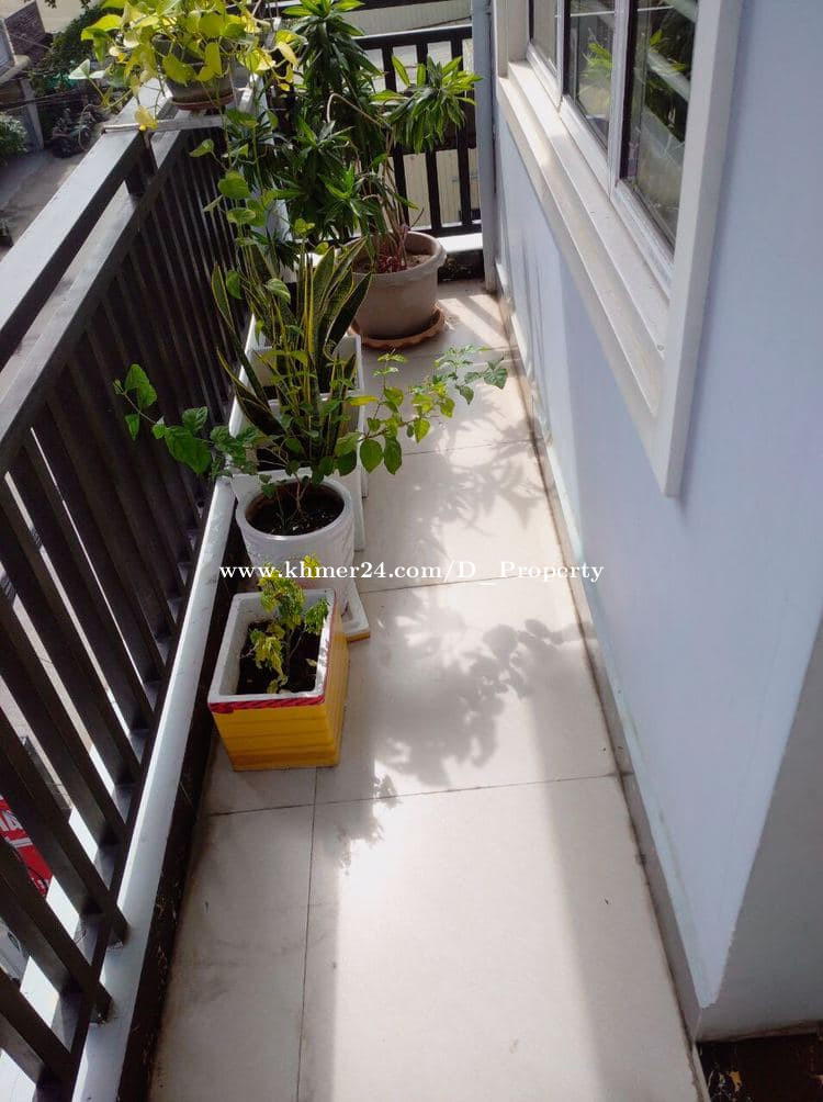Nice Apartment for Rent (1Bedroom; Phsa Deom Thkov )