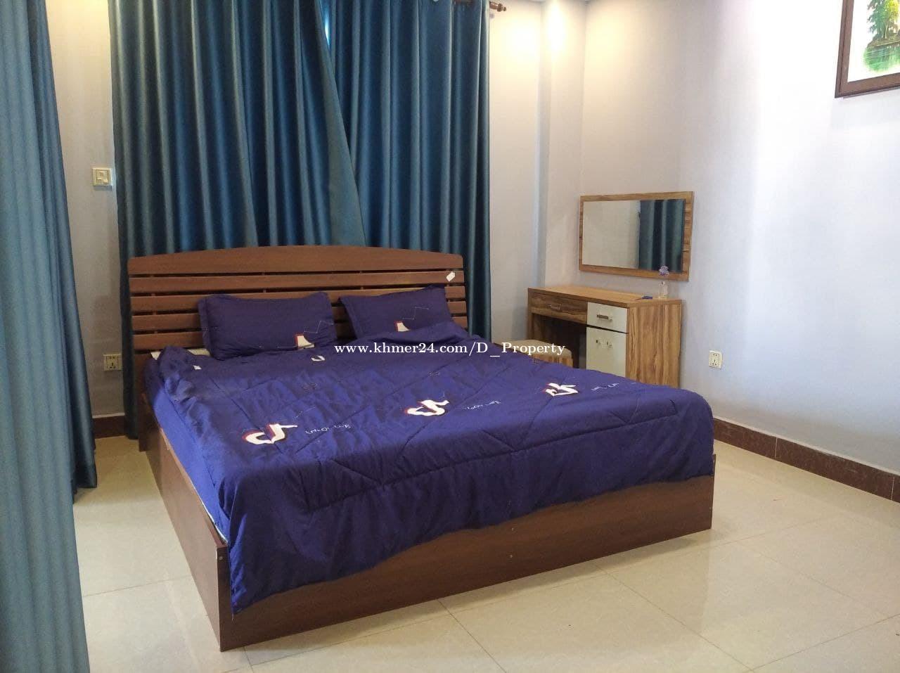 Nice Apartment for Rent (1Bedroom; Boeung Trobek)
