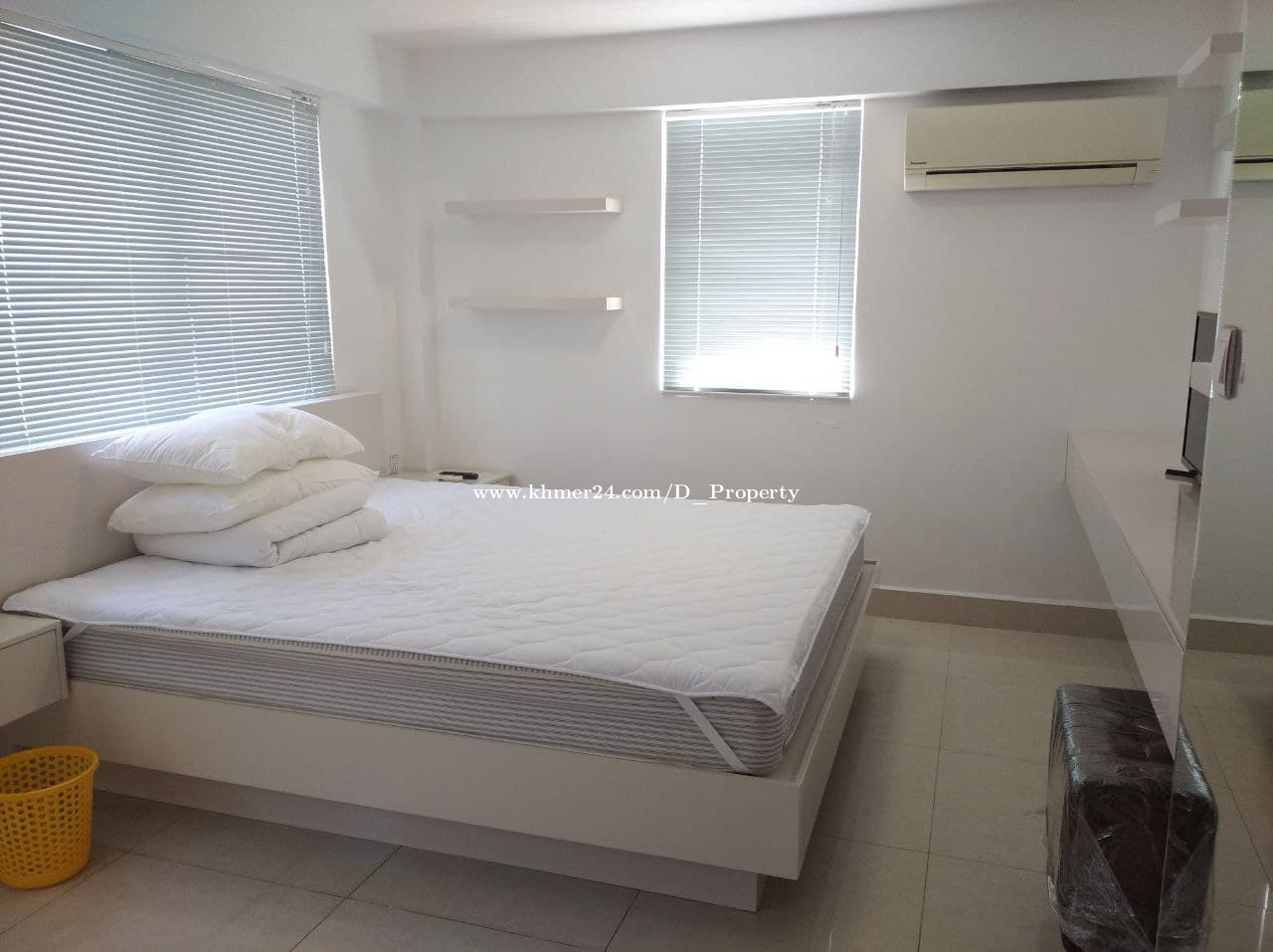 Nice Apartment for Rent (1Bedroom Boeung Trobek)