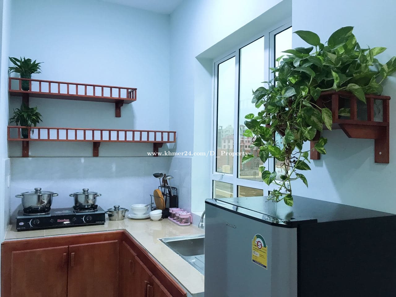 Nice Apartment for Rent (Studio room; Phsa Demthkov )