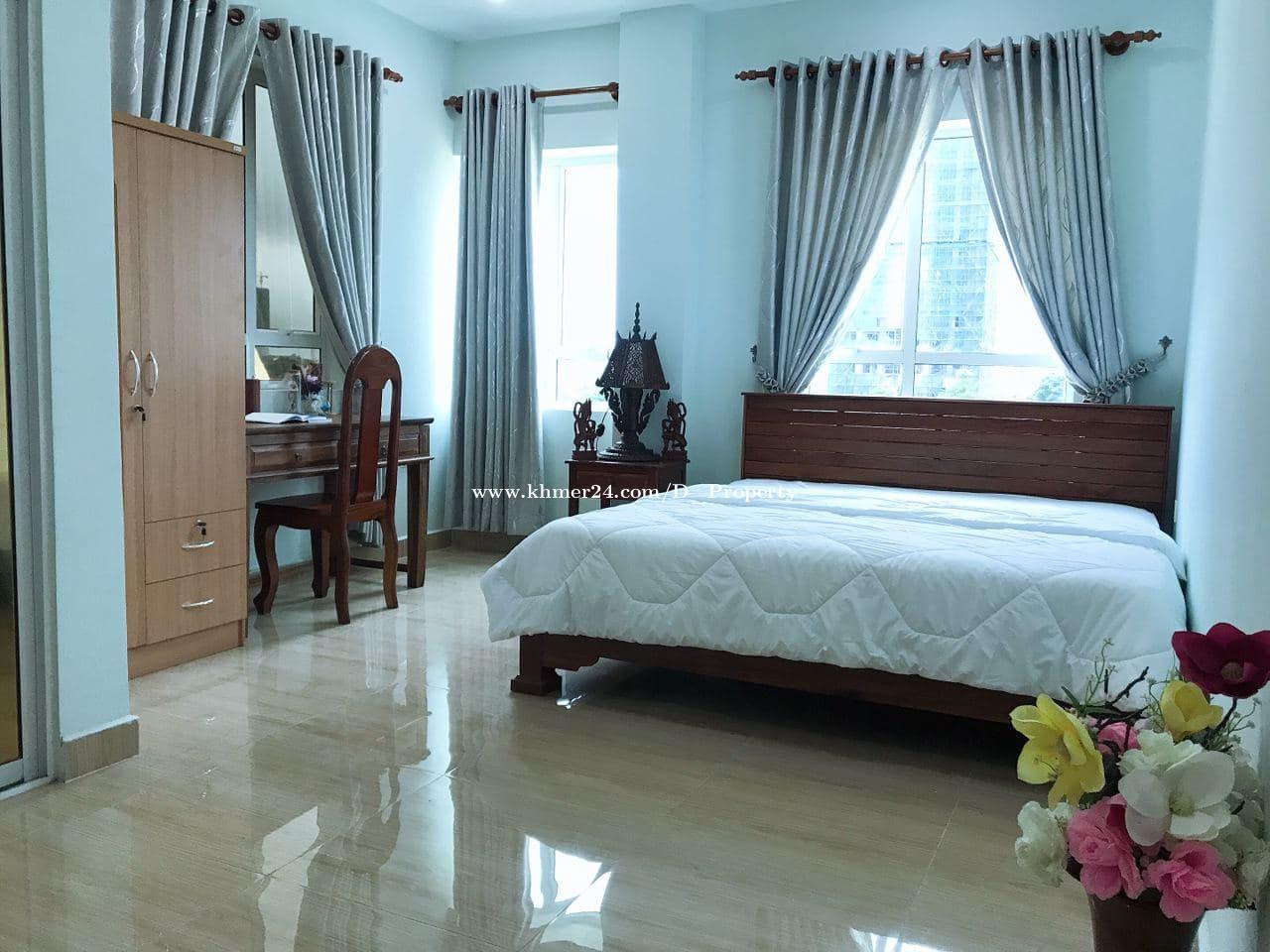 Nice Apartment for Rent (2 Bedrooms; Phsar Daemthkov )