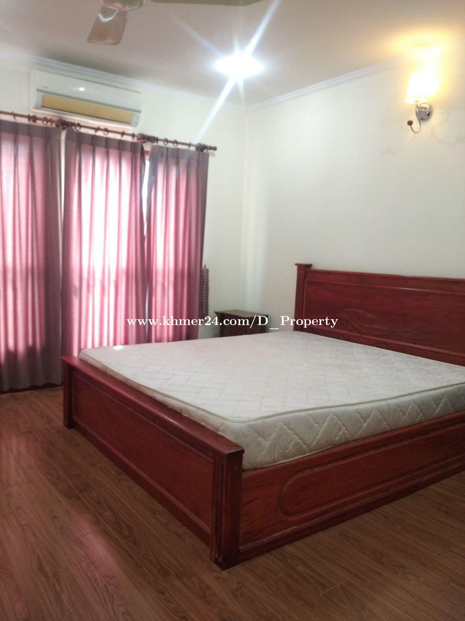 Western Apartment for Rent (1Bedroom; BKK3)