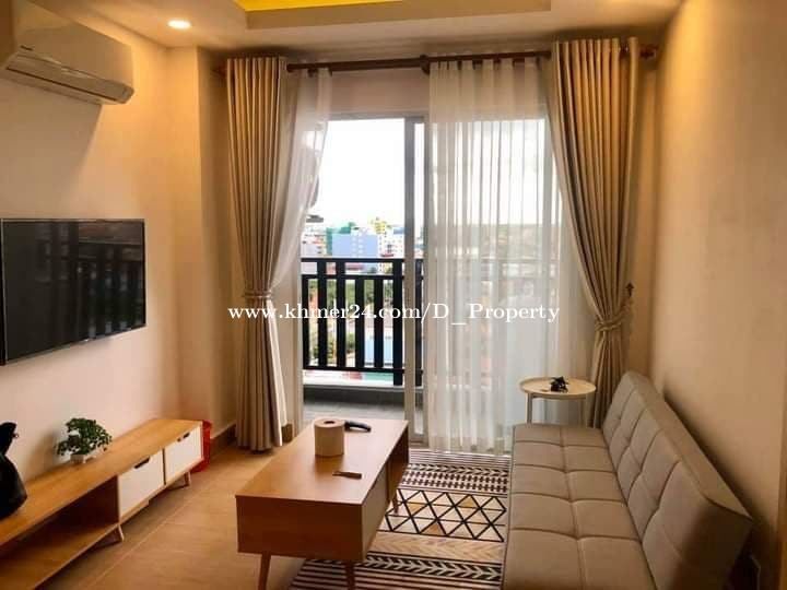 Western Condo for Rent (2 Bedrooms; Boeung Trobek area)