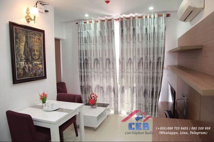 Nice Apartment for Rent (1Bedroom; Steung Meanchey )