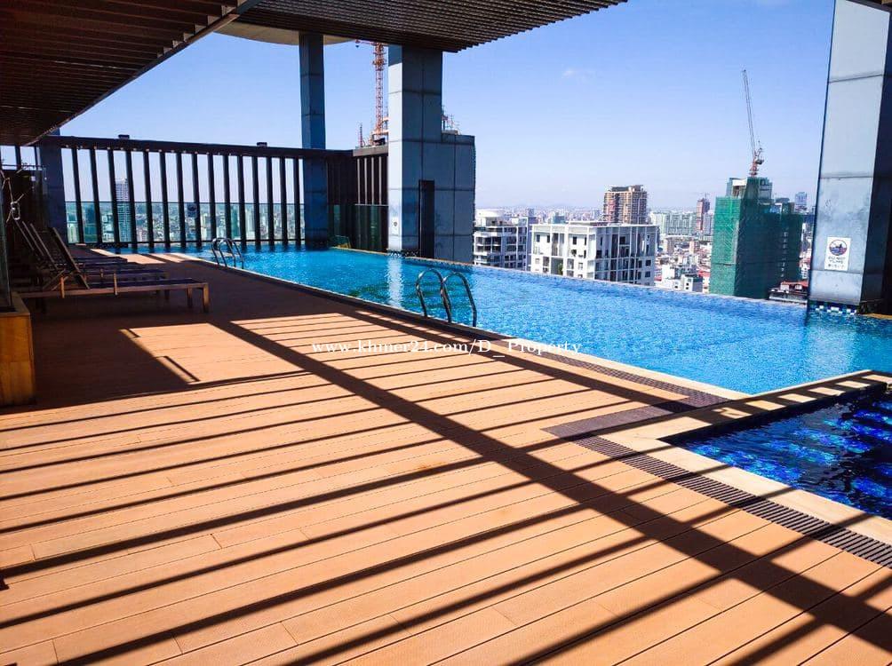 Modern Apartment for Rent (1Bedroom: BKK1 area)